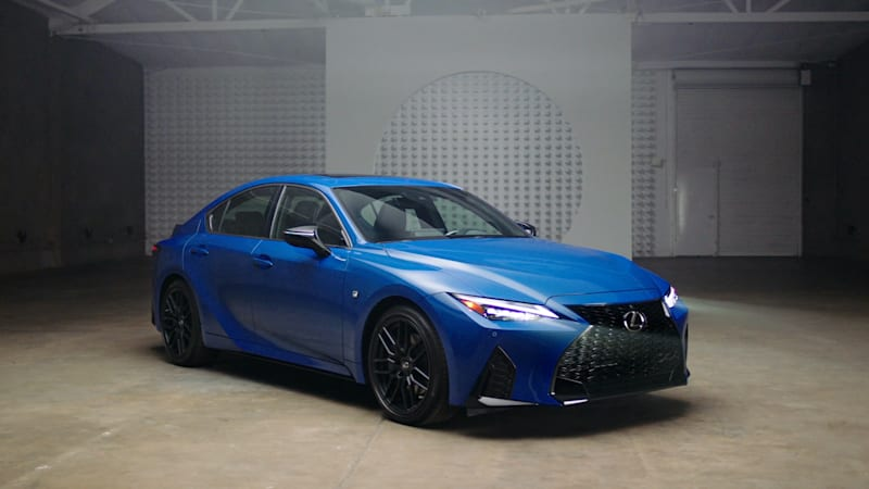 Lexus and RTFKT create a sneaker inspired by the 2021 IS 350