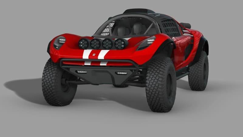 Glickenhaus 008 Baja Dakar Buggy — внедорожник для любителей DIY