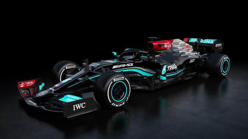 Команда Mercedes F1 демонстрирует новую поездку Льюиса Хэмилтона