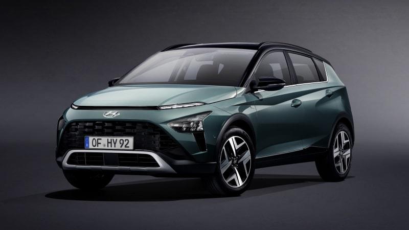 В Европе представят кроссовер Hyundai Bayon 2021 года
