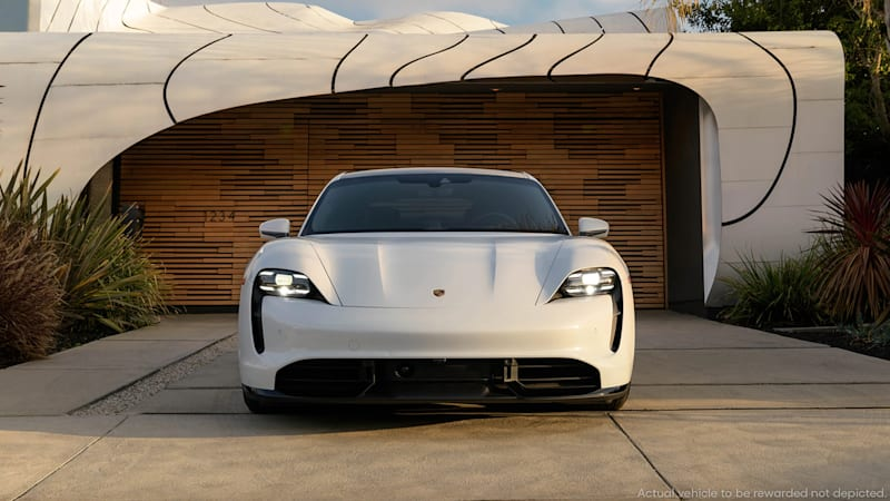 The 2021 Porsche Taycan may be the best all-around EV, and Omaze is giving one away