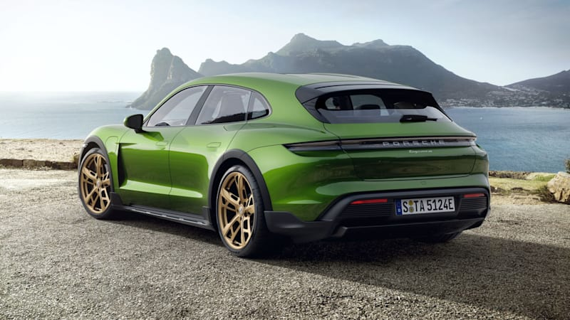 The Porsche Taycan Cross Turismo is wonderfully colorful. Here's what we'd choose