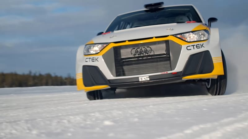 Audi Quattro makes unofficial return to the World Rally Championship