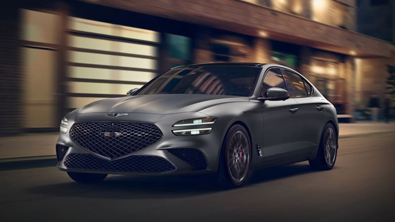 2022 Genesis G70 price undercuts main German and Japanese rivals