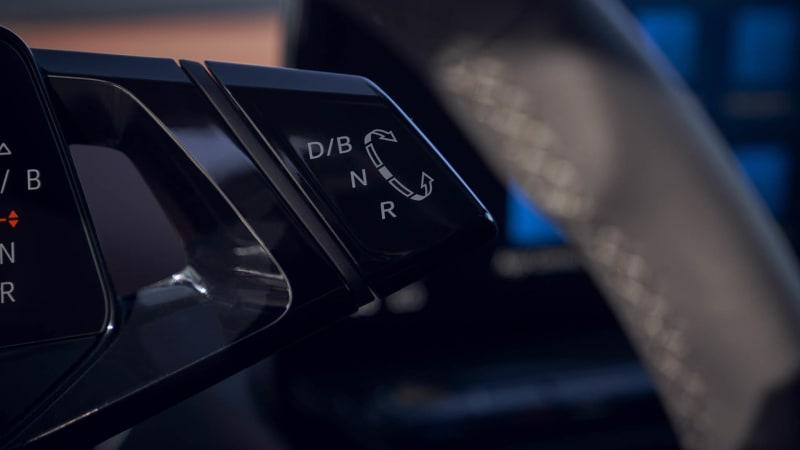 VW ID4 shifter