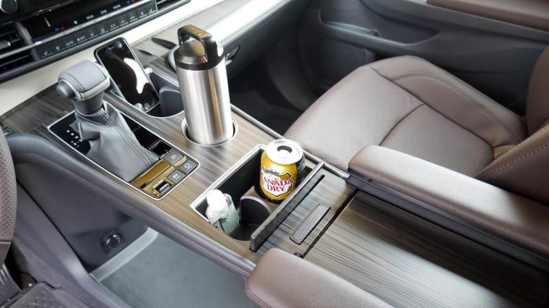 2021 Toyota Sienna interior storage center console