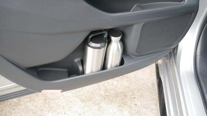 2021 Toyota Sienna interior storage front door bottle holders