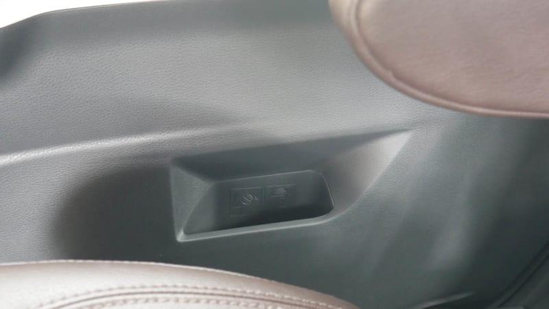 2021 Toyota Sienna interior storage sliding door bin