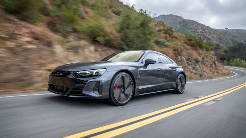 2022 Audi RS E-Tron GT First Drive Review | The halo EV arrives