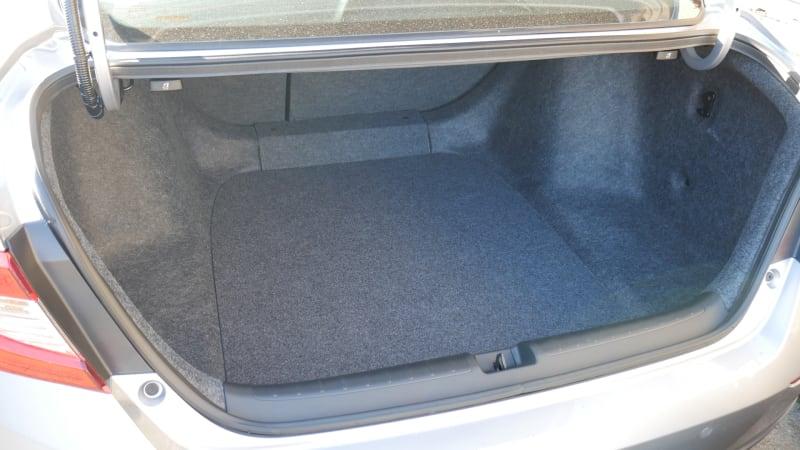 2021 Honda Accord Hybrid trunk
