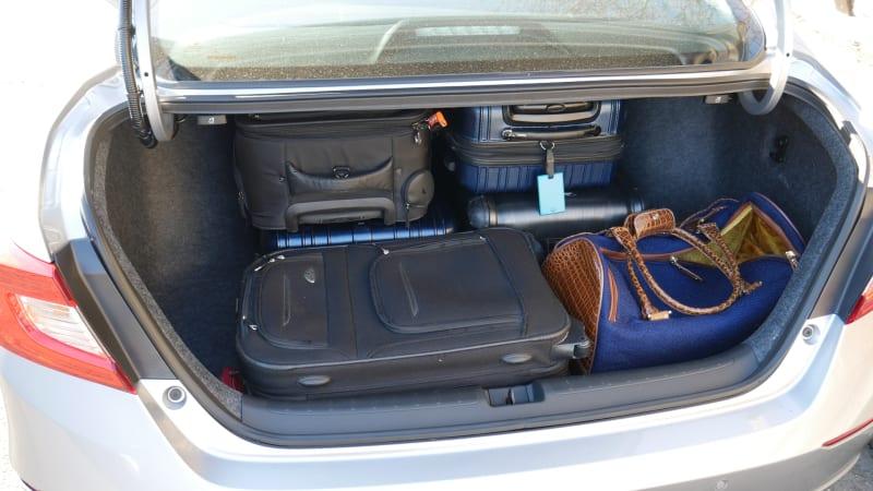 2021 Honda Accord Hybrid trunk all the bags
