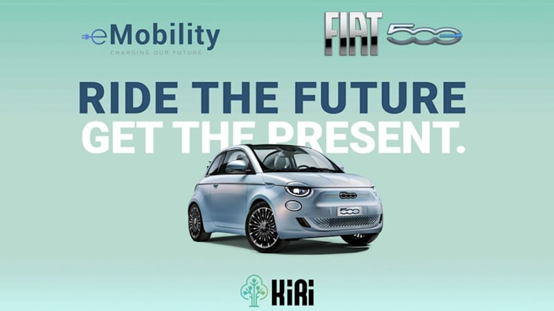 Free crypto! Fiat to reward New 500 drivers for eco-friendly motoring