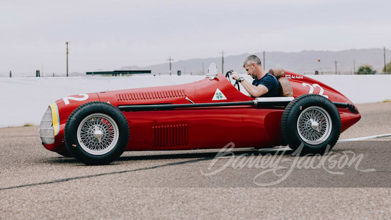 1938 Alfa Romeo 158 Alfetta homage, built by TV's Ant Anstead, coming to Barrett-Jackson
