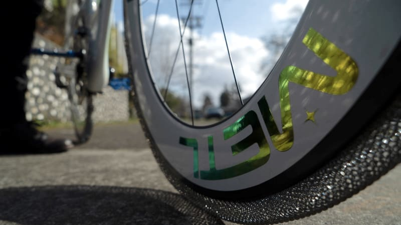Your next bicycle could have titanium alloy tires like NASA's rovers