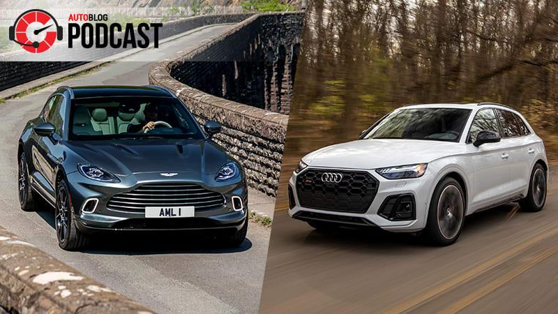 Driving the Aston Martin DBX, Audi SQ5 and Hyundai Palisade | Autoblog Podcast #670