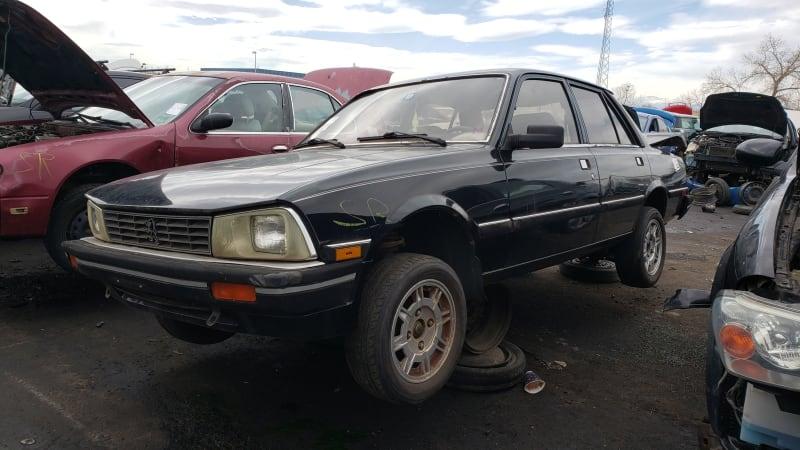 Junkyard Gem: 1985 Peugeot 505 Turbo Sedan