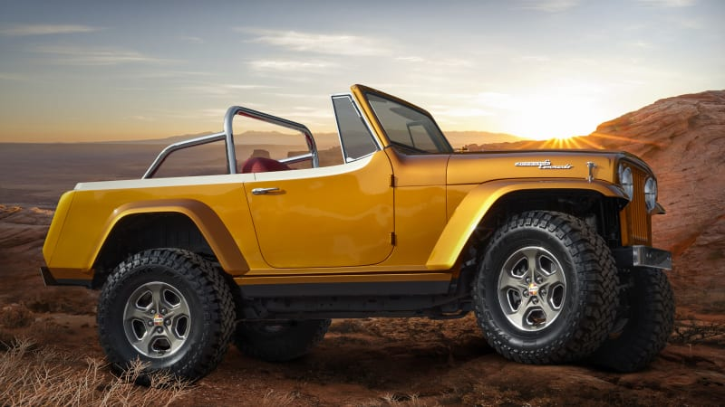 Jeep debuts four new concepts at the 2021 Easter Jeep Safari