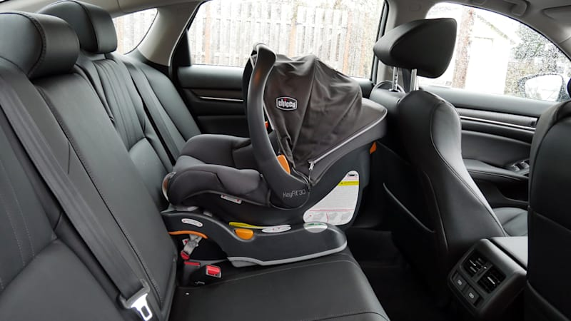 2021 Honda Accord Hybrid Interior infant seat outboard