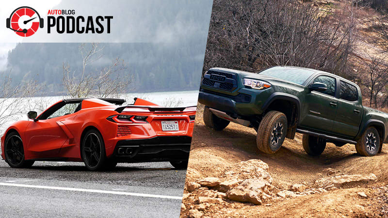 Driving the Toyota Tacoma,  BMW 430i and Chevy Corvette Convertible | Autoblog Podcast #671