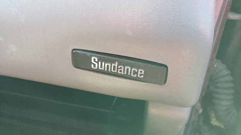 31 1993 Plymouth Sundance in Colorado junkyard photo by Murilee Martin