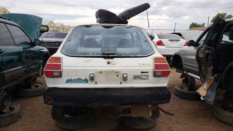 38 1981 Toyota Tercel in Colorado junkyard photo by Murilee Martin