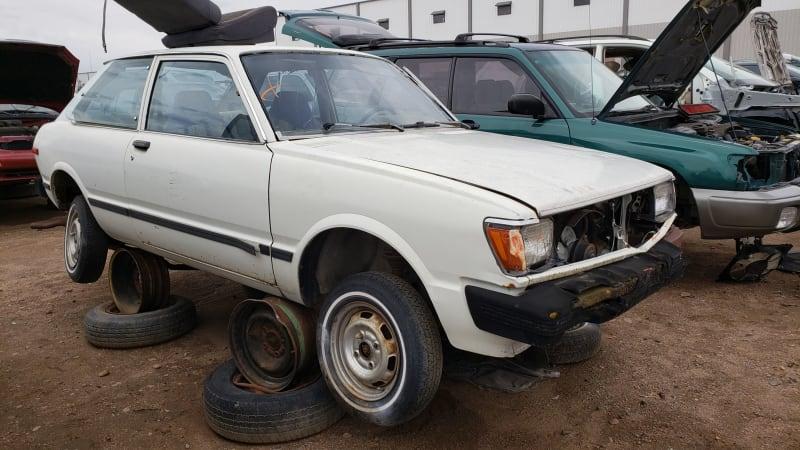 Junkyard Gem: 1981 Toyota Tercel Hatchback