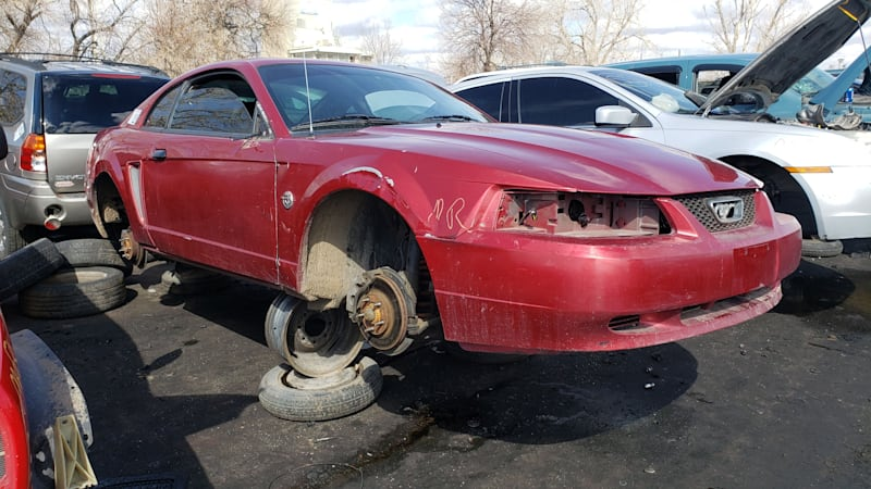 Junkyard Gem: 2004 Ford Mustang