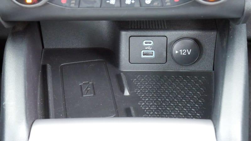 2021 Ford Bronco Sport interior phone storage