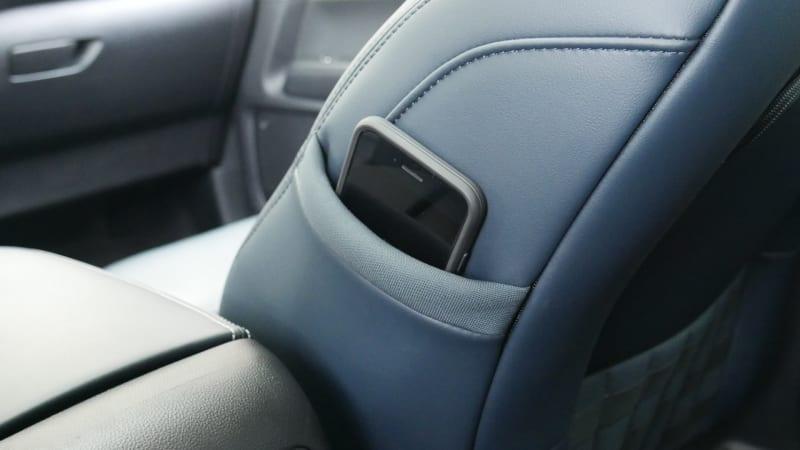 2021 Ford Bronco Sport interior seat pocket