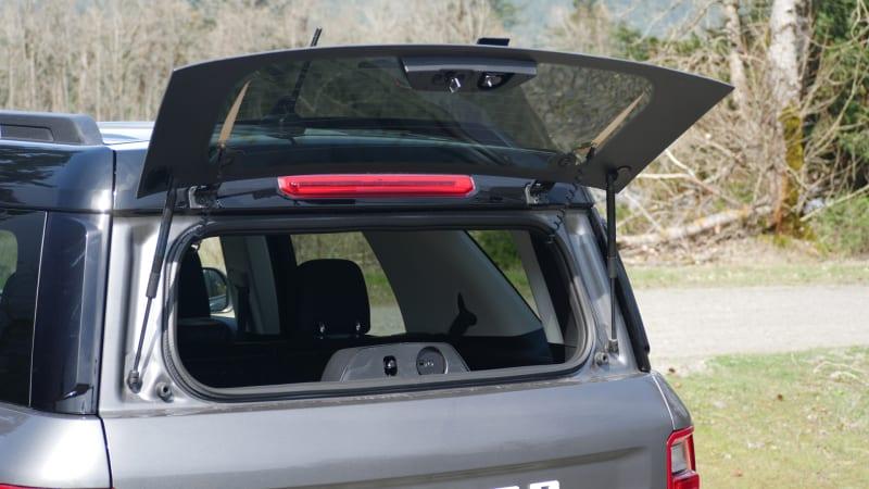 2021 Ford Bronco Sport cargo glass hatch