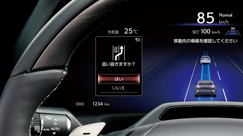 Toyota Mirai, Lexus LS show off Advanced Drive assists with OTA updates, AI