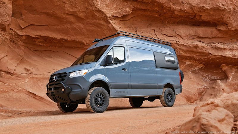 Win this made-for-you $140K Mercedes Sprinter 4x4 camper van