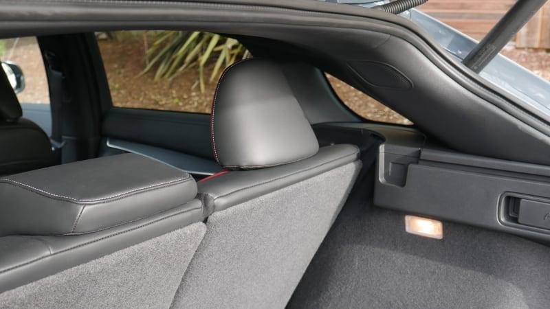 2021 Infiniti QX55 seat recline