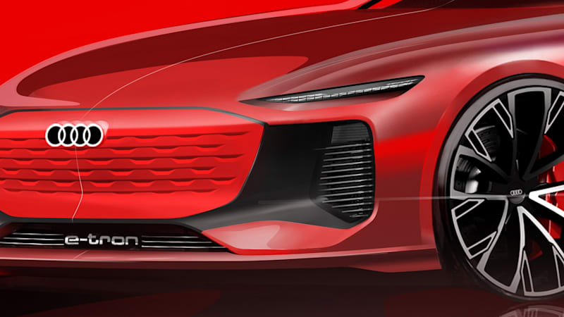 Audi previews the EV concept it s bringing to the Shanghai show