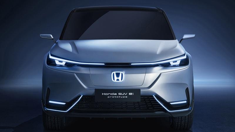 Honda SUV e prototype Shanghai 2021 03
