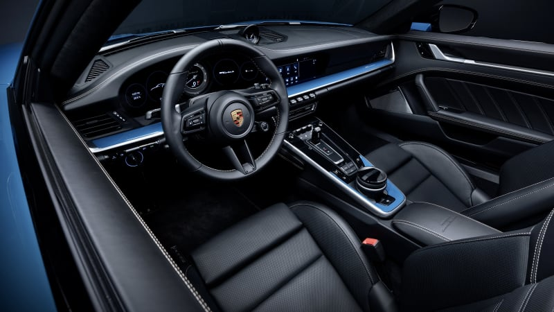 porsche 911 turbo s 20 years china interior