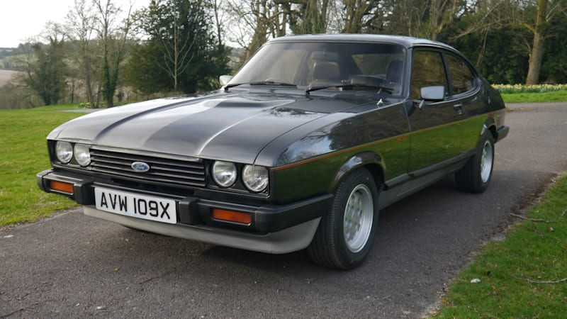 It's good to be the king: SVE made Henry Ford II the world's nicest '81 Ford Capri