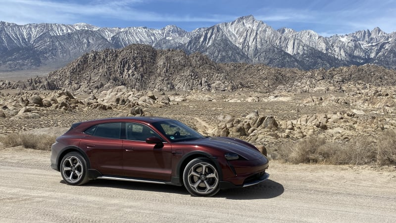 2021 Porsche Taycan Cross Turismo First Drive Review | The one to get