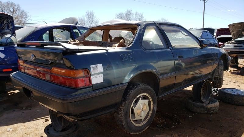 53 1989 Honda Prelude Si 4WS in Colorado junkyard photo by Murilee Martin