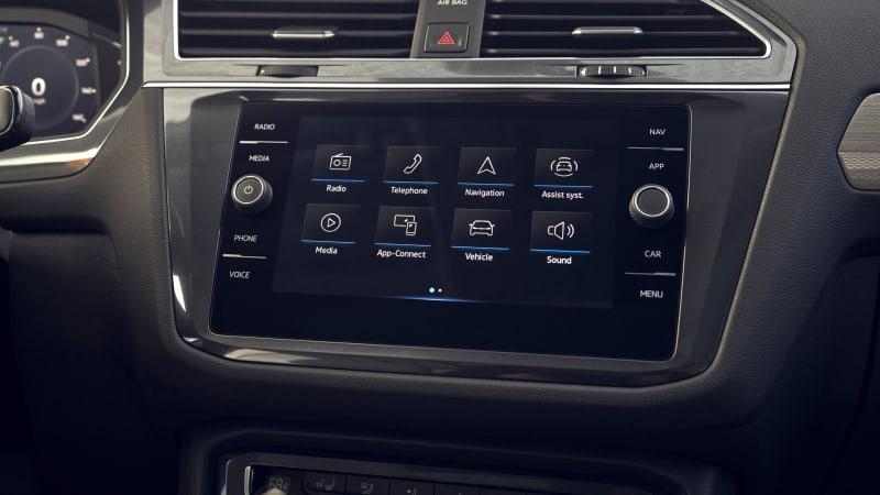 2021 VW Tiguan MIB3 infotainment