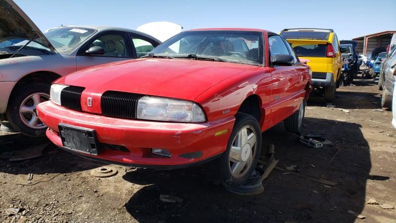 Junkyard Gem: 1992 Oldsmobile Achieva Sport Coupe
