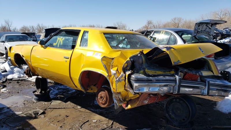31 1977 Oldsmobile Cutlass Supreme in Colorado junkyard photo by Murilee Martin