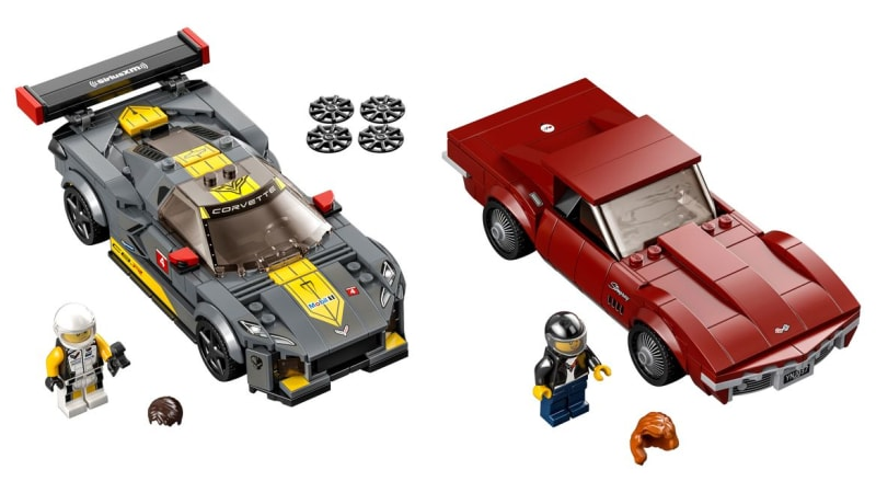 McLaren, Koenigsegg, Toyota, Ford, Dodge and Corvette Lego kits announced for 2021