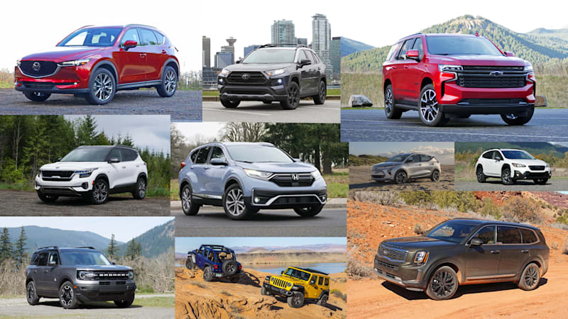 Best SUVs of 2021
