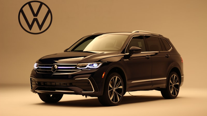 2022 Volkswagen Tiguan makes U.S. debut with added tech, classier styling