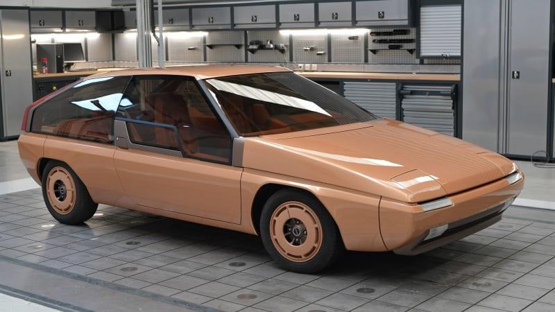 Mazda gives its Bertone-designed MX-81 Aria concept a full restoration