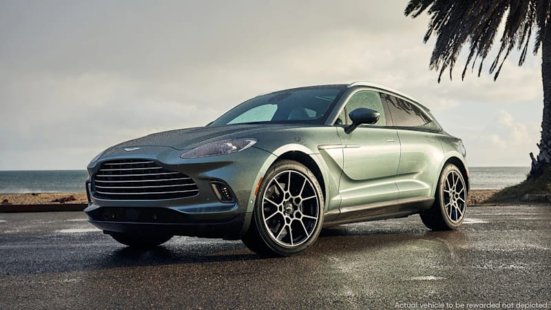 Win a 2021 Aston Martin DBX, a Bond car for the family