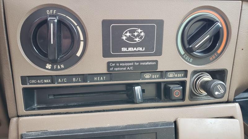 22 1984 Subaru DL Coupe in Colorado junkyard photo by Murilee Martin