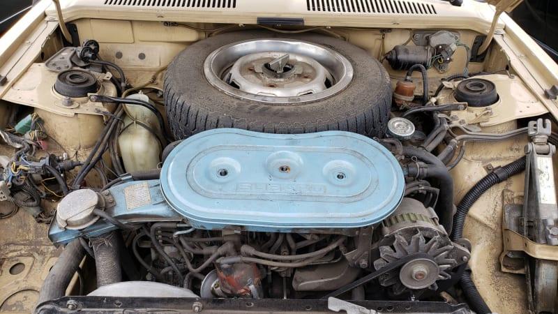 40 1984 Subaru DL Coupe in Colorado junkyard photo by Murilee Martin