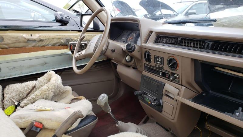 58 1984 Subaru DL Coupe in Colorado junkyard photo by Murilee Martin